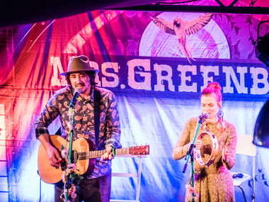 Konzert in Bernau: Mrs. Greenbird